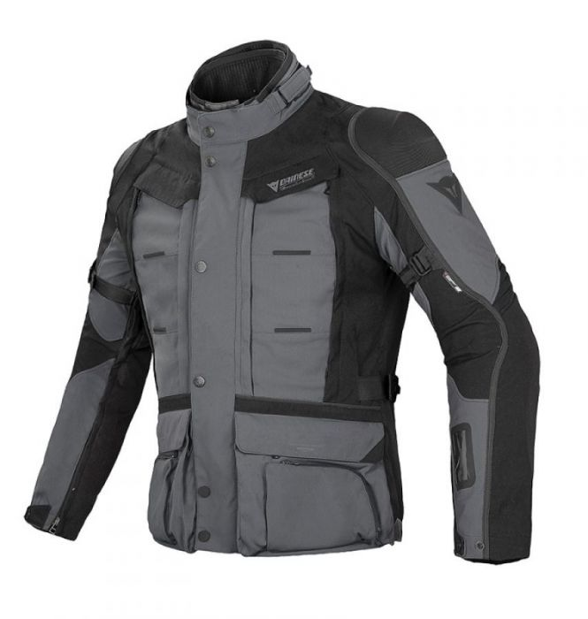 MĘSKA KURTKA TEKSTYLNA G. EXPLORER GORE-TEX - CASTLE-ROCK/BLACK/DARK-GULL-GRAY - 46 - 1593961-Q96